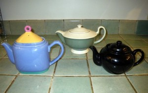 Tea pots for the Tea Party?