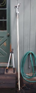 Long handled pruners and loppers