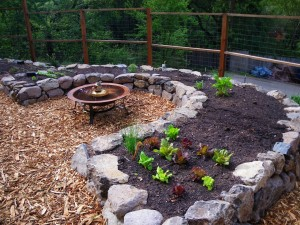 Mulch is great for the garden